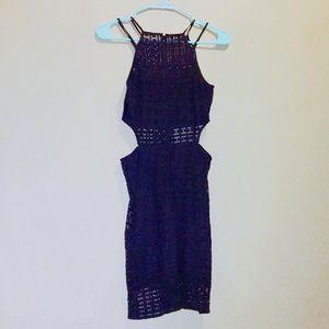 Express crochet lace dress